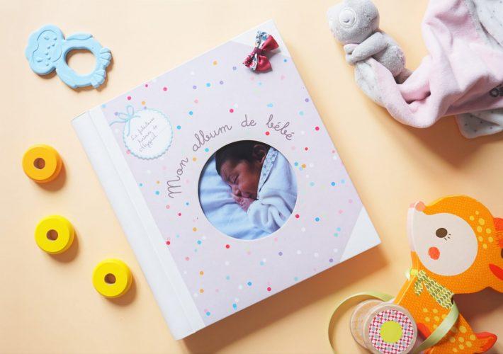 Un album de naissance joli et coloré pour y remplir tous les plus beaux instants de bébé