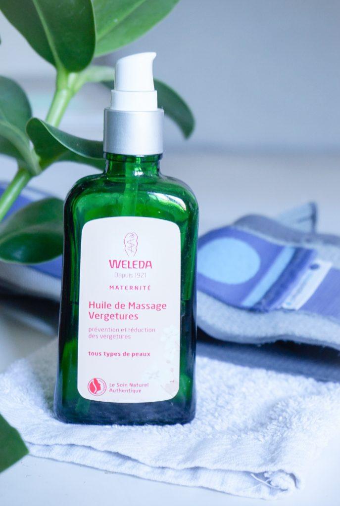 la ceinture physiomat et la creme weleda sont très utiles pendant la grossesse