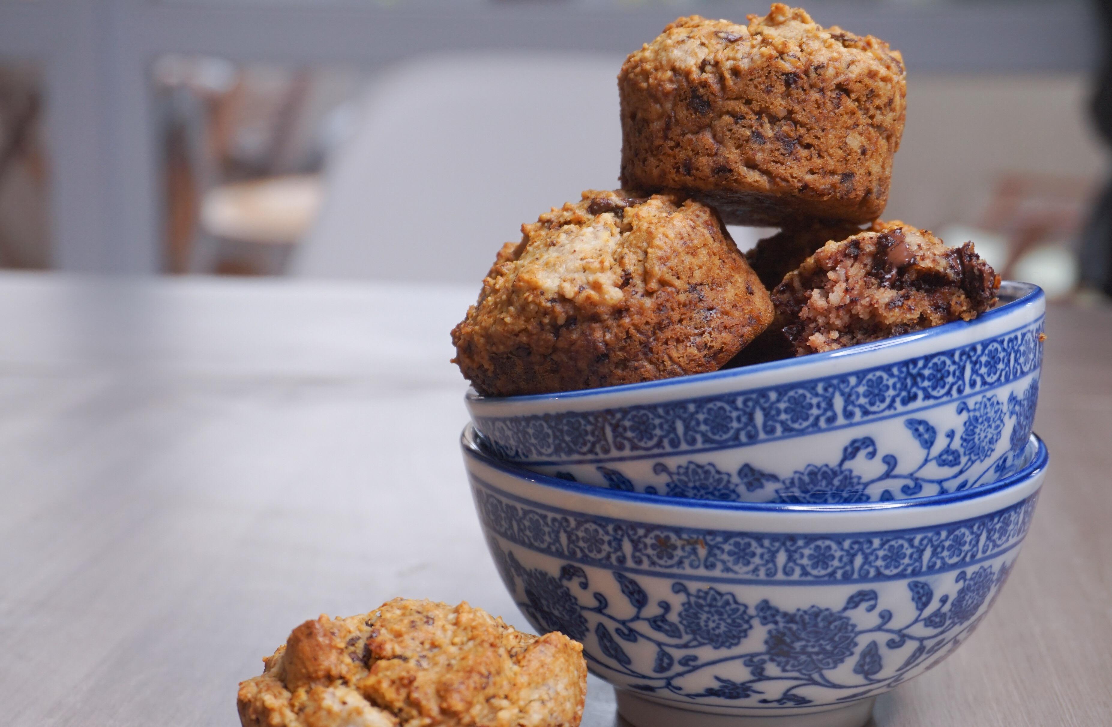 Cuisiner sans gluten et vegan, c'est facile et express avec cette recette de muffins au chocolat
